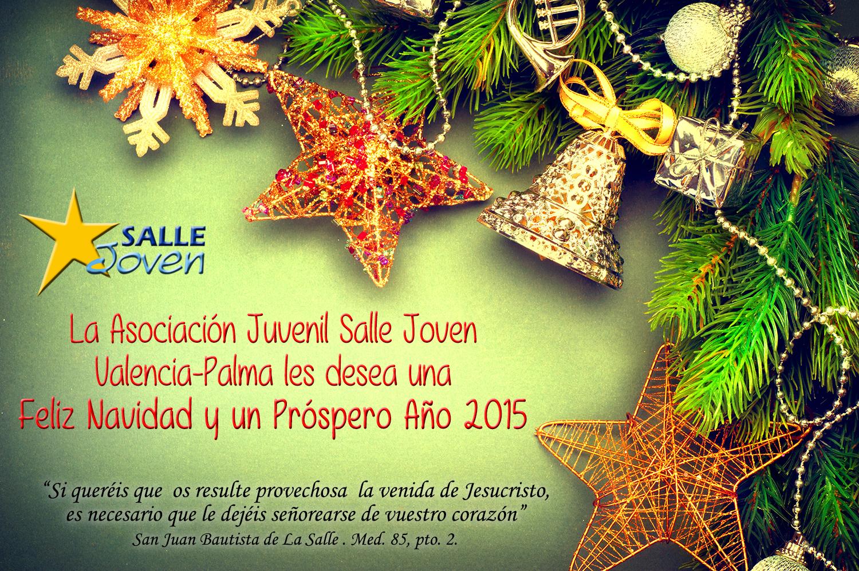 Felicitación de Navidad Salle Joven Valencia-Palma
